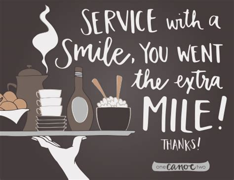 Thank You Letter For Waitress Who Make The World Go The Waiter Waitress 1canoe2