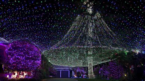 video confirmed australian couple take christmas lights