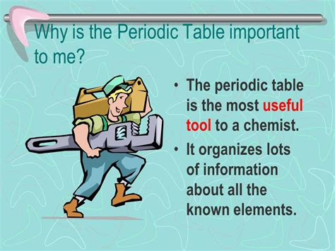 why is the periodic table called periodic the periodic table ppt
