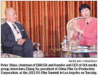 china film association us chinese filmmakers pow wow top stories chinadaily com cn