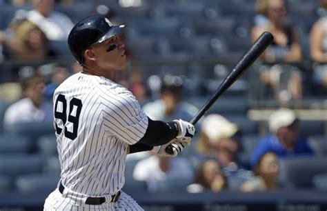 Aaron Judge Off To Historic Start To Begin Yankees Career Bronx - new york yankees youth movement gets off to historic start