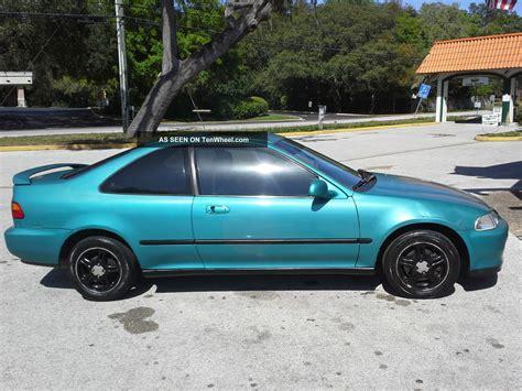 Two Door Honda Civic by 1993 Honda Civic Ex Coupe 2 Door 1 6l