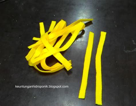 Kain Sumbu Flanel Hidroponik sistem tanam hidroponik keuntungan hidroponik