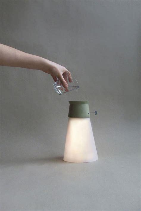 wat led cordless lamp powered  water