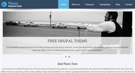 drupal themes skeleton 20 free responsive drupal themes designmaz