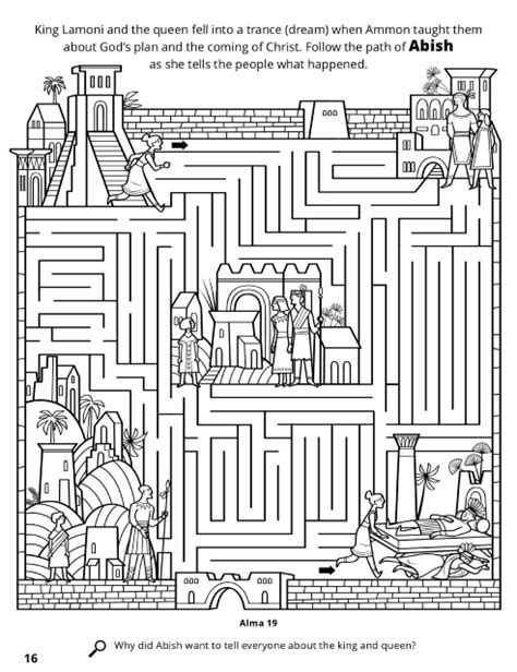 lds coloring pages king benjamin 89 lds ammon coloring page astonishing lds prophet