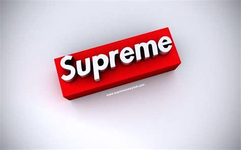 Supreme 3d Premium supreme wallpaper by brainnfreeze on deviantart