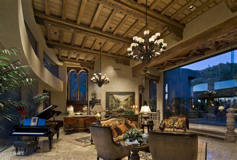 the living room scottsdale magnificent residence in scottsdale arizona
