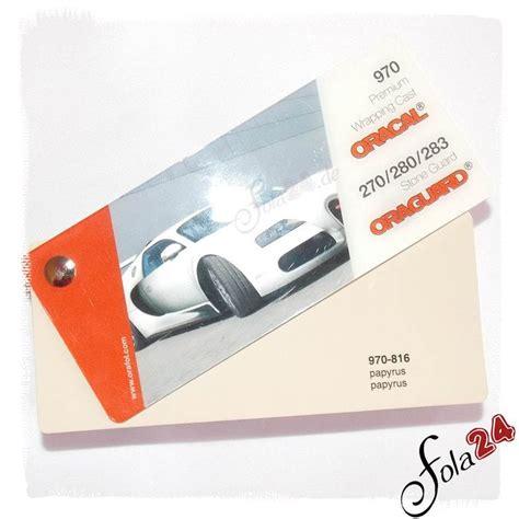 Autofolie 3m Oder Oracal by 816 Papyrus Gl 228 Nzend Ca Ral 1014 Oracal 970 Premium