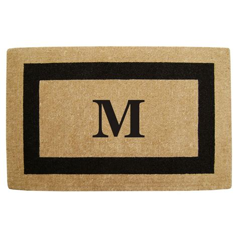 Initial Doormat by Monogram Doormat