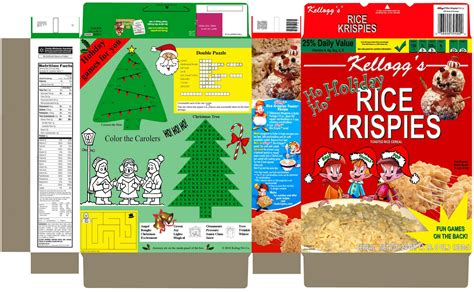 design your own cereal box template photoshop skillz