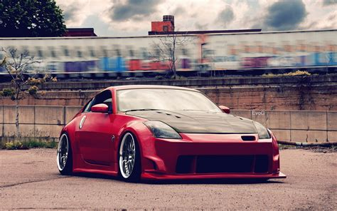 red nissan car cars nissan tuning red wallpaper allwallpaper in 46