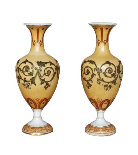 vases en opaline milieu du xixe si 232 cle n 56153