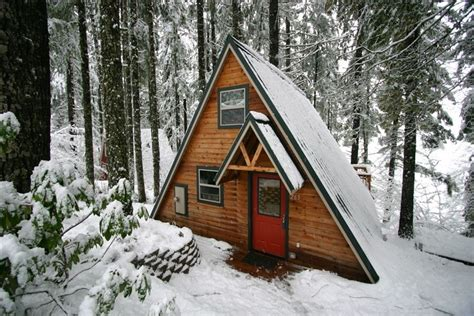 small a frame cabin kits cabins small houses cottages bhs contracting oregon contractor