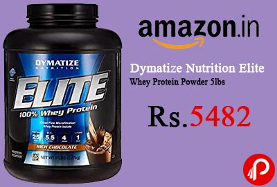 Dymatize Elite Whey Protein 5 Lbs 5lbs Kode Vc14501 dymatize nutrition elite whey protein powder 5lbs at rs 5482