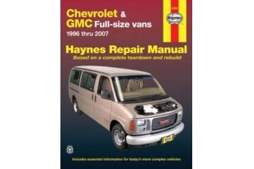 free auto repair manuals 2002 gmc savana 3500 electronic throttle control 2001 2002 gmc savana 3500 manual haynes gmc manual 24081 01 02 price comparison