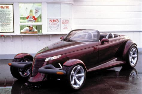 chrysler prowler 1993 plymouth prowler concept concepts