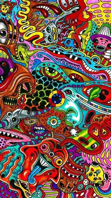 psychedelic hippie wallpapers collection  desktop