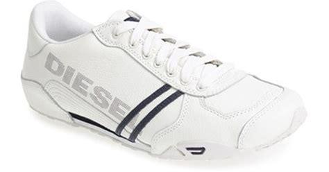diesel harold solar sneakers in white for lyst
