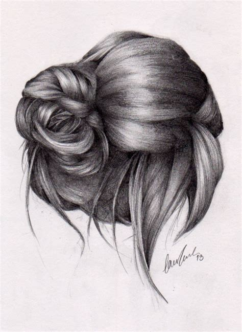 Drawing Hair by Drawing Front View Ponytails Search Fashion