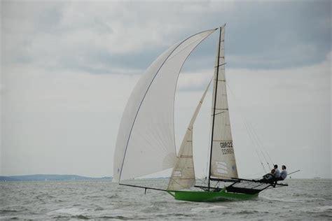 gold sails 18ft skiff solent grand prix series round 1 - Skiff Gold