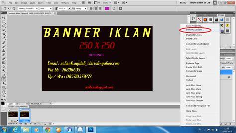 membuat banner iklan online contoh banner dengan photoshop rumamu di