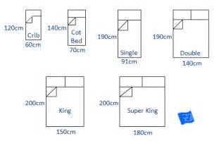 King Size Bed Sizes Uk Bed Sizes And Space Around The Bed