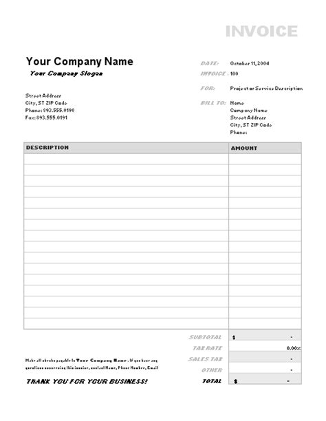 invoice template 38 excel invoice templates fresh how to