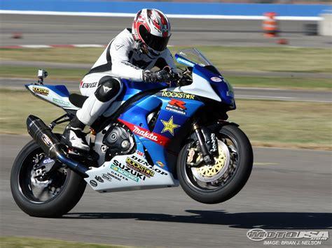 Superbike Suzuki Gsxr 1000 2009 Mat Mladin Suzuki Gsx R1000 Test Photos Motorcycle Usa