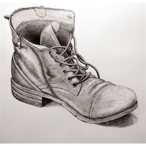 boat art drawing a2 pencil drawing of an old boot drawing sketching