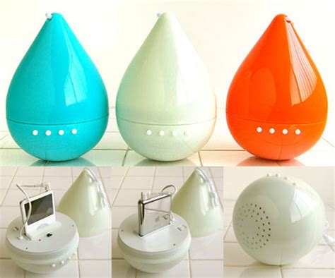 Drop Speaker Water Resistant Ipod Speaker drop the water resistant ipod speaker