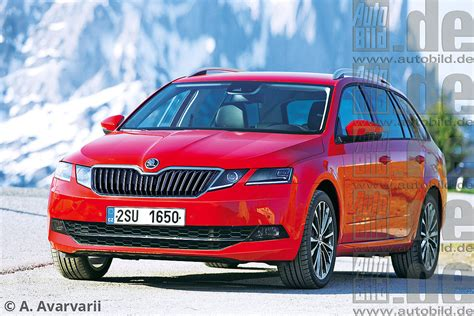 Autobild Quality Report 2015 by 2017 Skoda Octavia Facelift Rendered Will Gain A 3 Cyl