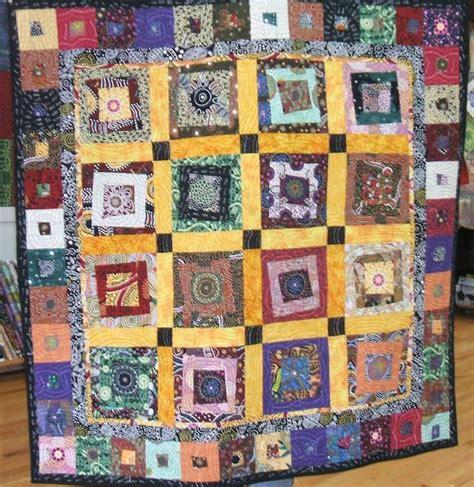 quilt using australian aboriginal fabric quilts