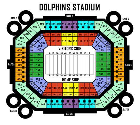 dolphin stadium seats dolphin stadium