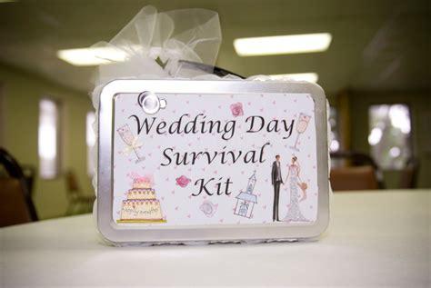 Wedding Gift Kits by Of Craft Wedding Week Wedding Day Survival Kit