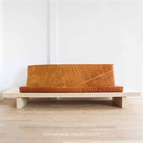 diy plywood sofa home made sofa the homemade sofa mund thesofa