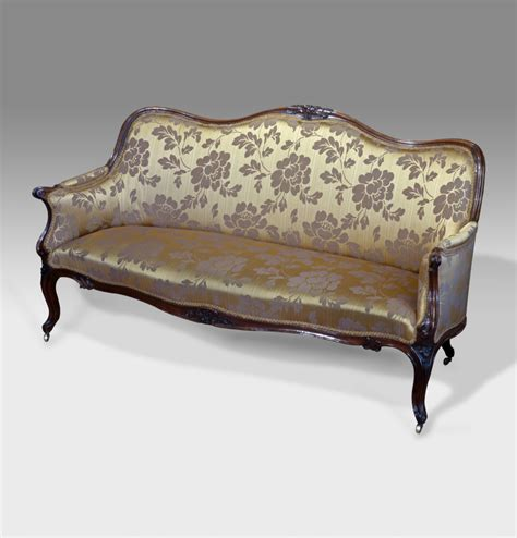 loveseat settee upholstered antique rosewood settee sofa victorian sofa antique