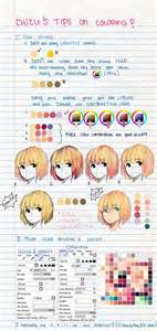 coloring techniques my tips on coloring by chilichizu on deviantart