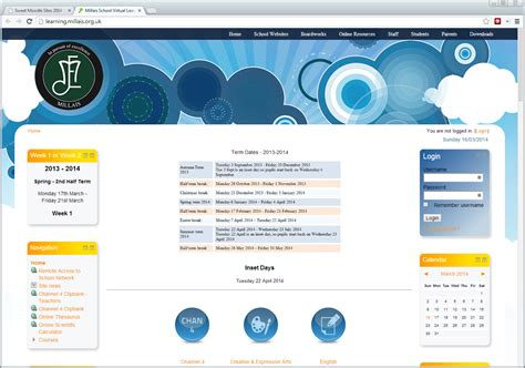 moodle themes best 22 awesome moodle site themes moodle news