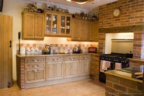 Rustic Country Kitchen Cabinets by Rustic Kitchen Designs Pictures And Inspiration