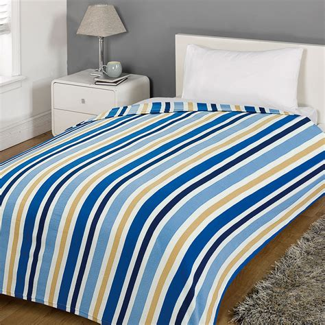 fleece bedding warm soft bedding throw over dot stripe bed cover couch