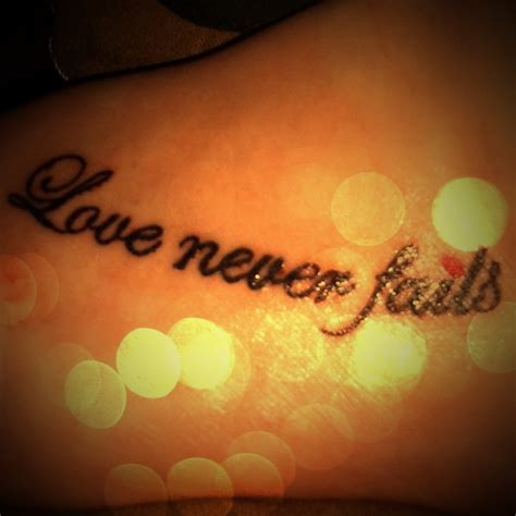 love never fails tattoo designs 17 best images about ideas on for