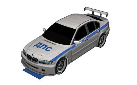 russia bmw 320i e46 paper car free vehicle paper
