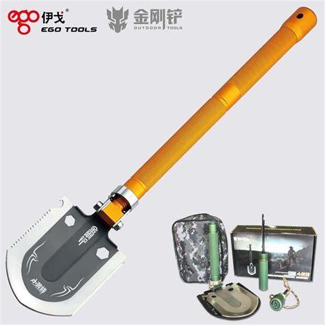 survival shovel tool deformed magic shovel outdoor survival tool