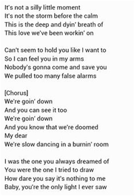 lyrics to in a burning room boulevard of broken dreams by green day lyrics parole verde e sogni