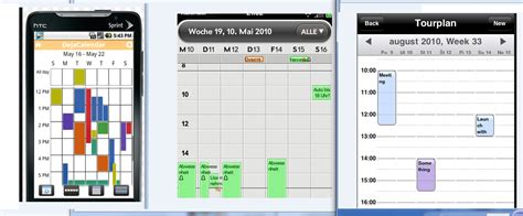 make a weekly calendar android how to create weekly calendar which show week
