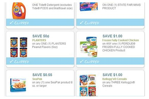 kellogg's coupons august 2018