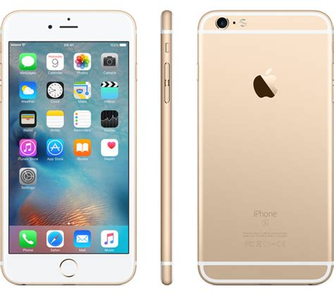 buy apple iphone 6s plus 32 gb gold free delivery currys