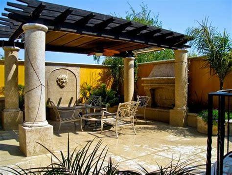 landscape design  app tuscan style backyard