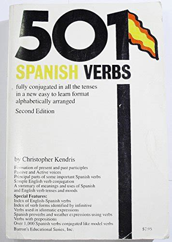 501 spanish verbs 501 143800916x librarika 501 spanish verbs fully conjugated in all the tenses in a new easy to learn format